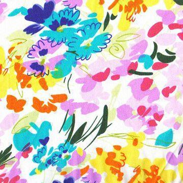 hand painted chiffon fabric(zj-ct-2)