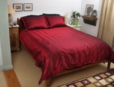 pure silk bedding set(wj-cxpz-11)
