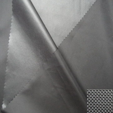 Sliver Coated Oxford Fabric (wj-fh2-13)