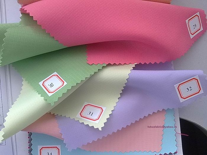 Polyester ripstop pongee fabric(wj-fh2-19)