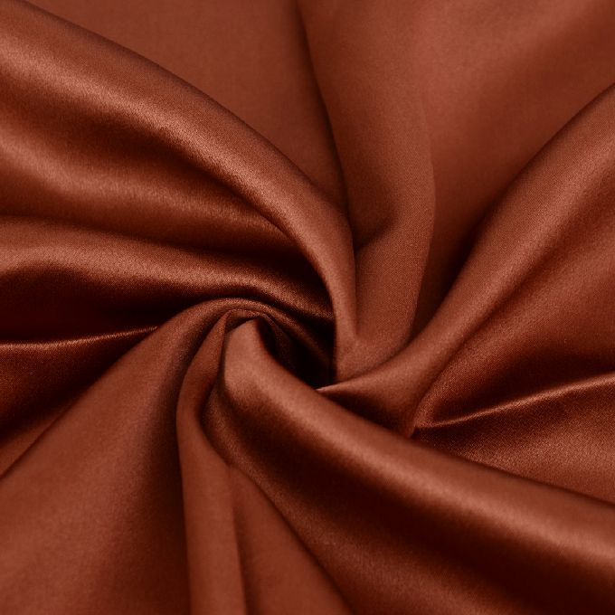 4 pcs 19MM Pure Silk Fitted Sheets Set King size multi colors dark chocolate(seamless)